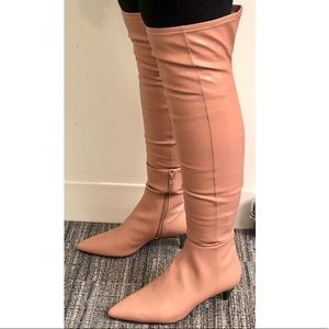 BCBG Women's over knee boots